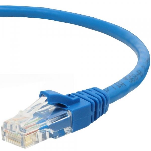 Обжим одного конца кабеля разъемом rj 45