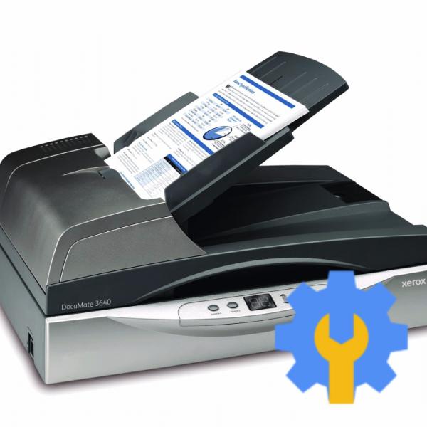 Настройка сетевого сканера документов на 1 компьютере от 5 пк